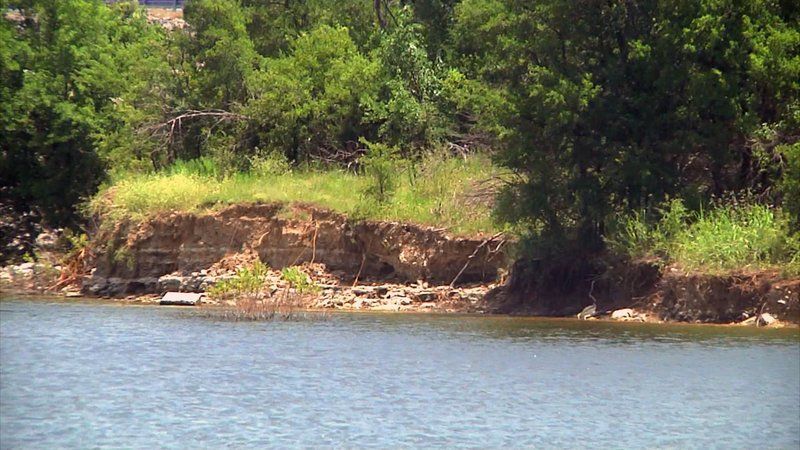 Levels are dropping at Lake Texoma. (KTEN)