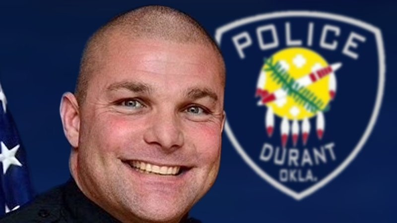 Durant police Officer Wesley Crank was diagnosed with Guillain-Barré syndrome. (KTEN)