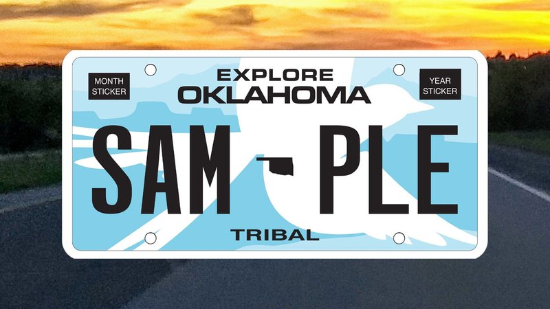 Oklahoma's lieutenant governor wants to redesign the state's license plate. (KTEN)