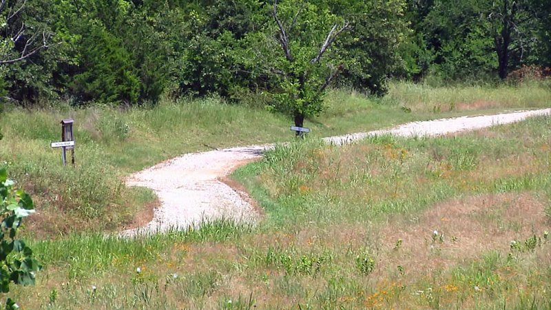 UCSO's new walking trail will link up with an existing trail at Ardmore Regional Park. (KTEN)