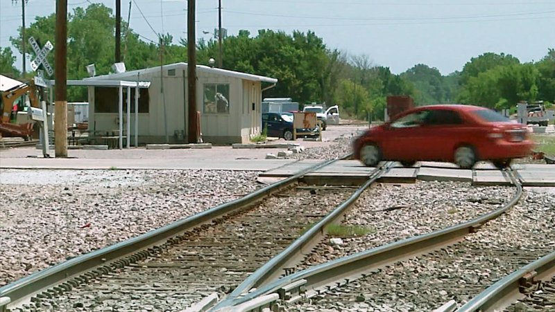 Railroad crossings in Ada will be subject to closure for maintenance work Saturday and Sunday. (KTEN)