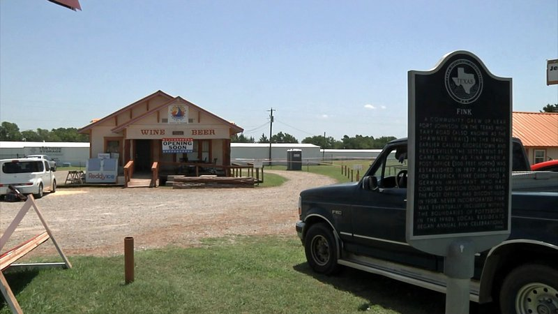 A pair of entrepreneurs are resurrecting the long-forgotten town of Fink, Texas. (KTEN)