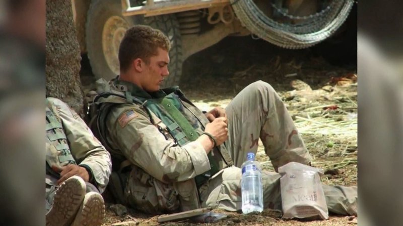 Cpl. Michael Tompson was killed in a helicopter crash in Iraq in 2008. (KFOR/Courtesy)