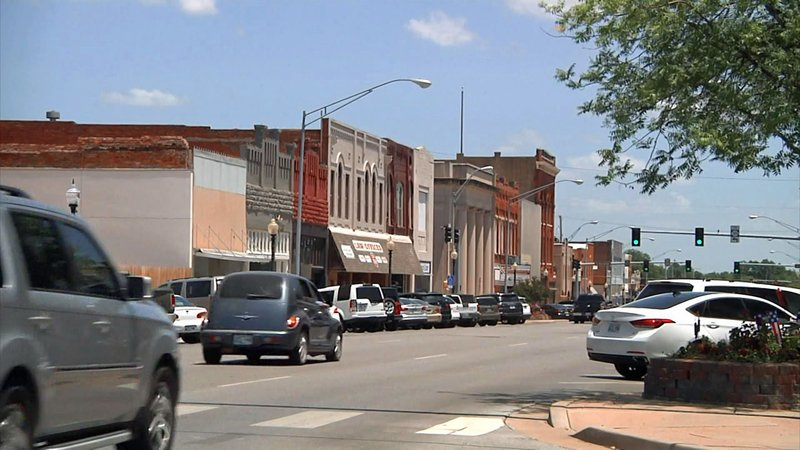 Downtown Ardmore has a fresh new look for the Fourth of July. (KTEN)