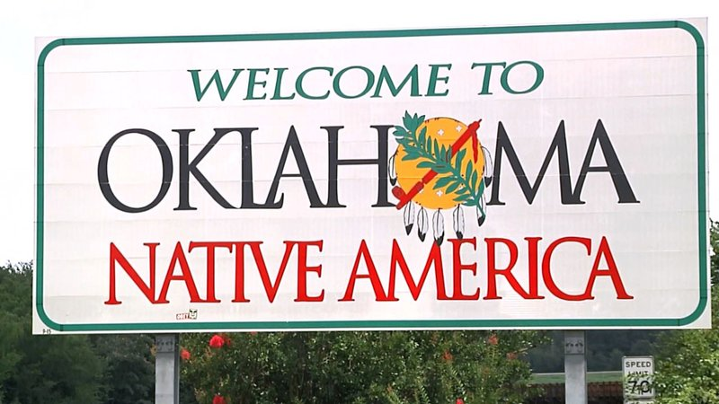 "Oklahoma Lt. Gov. Matt Pinnell wants to make the state's welcome signs more ""selfie friendly."" (KTEN)"