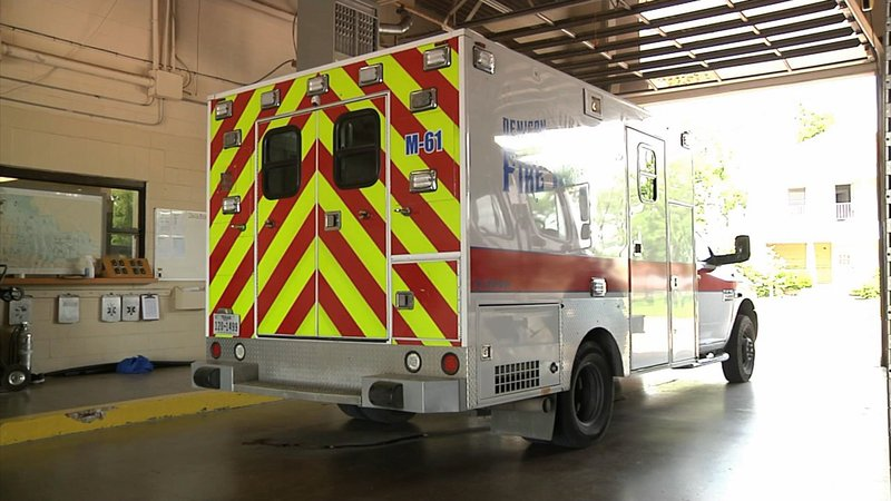 Private paramedics will ride aboard Denison Fire Rescue ambulances until the city can train new recruits. (KTEN)
