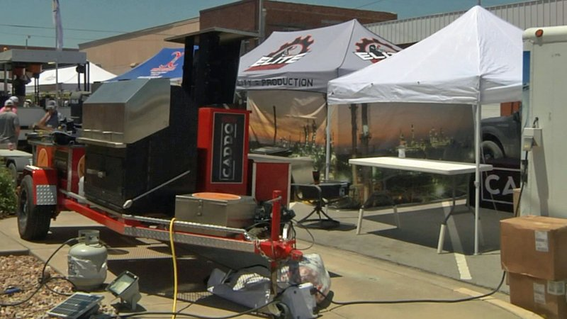 Barbecue is king in Ardmore for the Valero United Way BBQ Showdown. (KTEN)