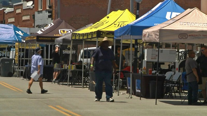 Forty teams are competing in the 2019 Valero United Way BBQ Showdown in Ardmore. (KTEN)