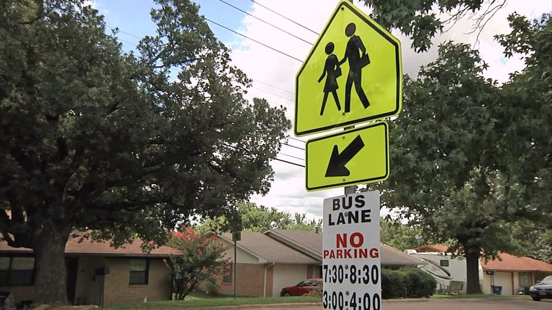 A new trail would mean a safer commute for Sory Elemtary School students. (KTEN)