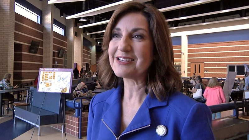 Oklahoma State Superintendent of Public Instruction Joy Hofmeister was in Durant for Engage OK on July 17, 2019. (KTEN)