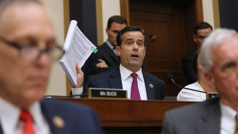 Congressman Ratcliffe nominated for the position of Director of National Intelligence by President Trump