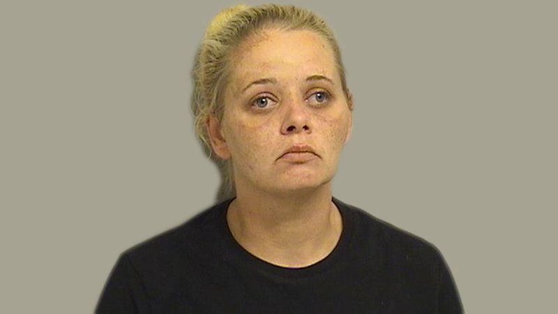 Angie West was arrested in connection with an attempt to steal copper wiring from a radio station transmitter near Tulsa. (Tulsa County Jail)