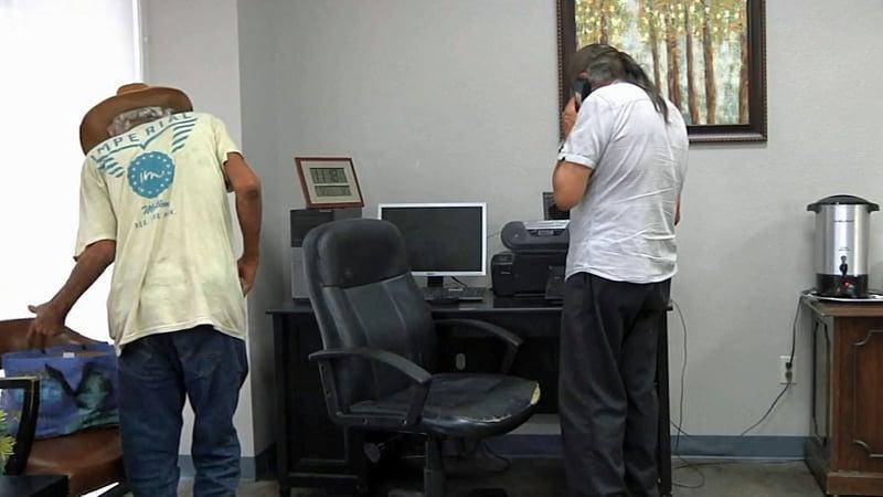 Homeless men get help in Ardmore. (KTEN)