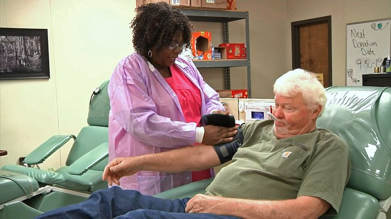 The Texoma Regional Blood Center is appealing for donations to replenish its dwindling supply. (KTEN)