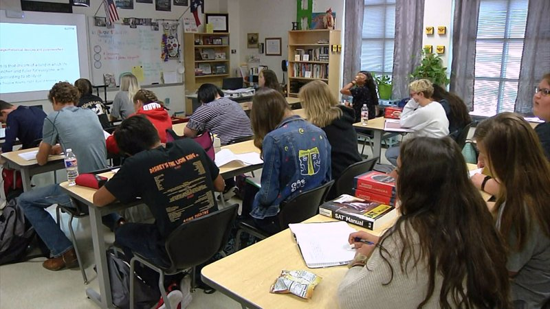 There's a new curriculum for Pottsboro High School students. (KTEN)