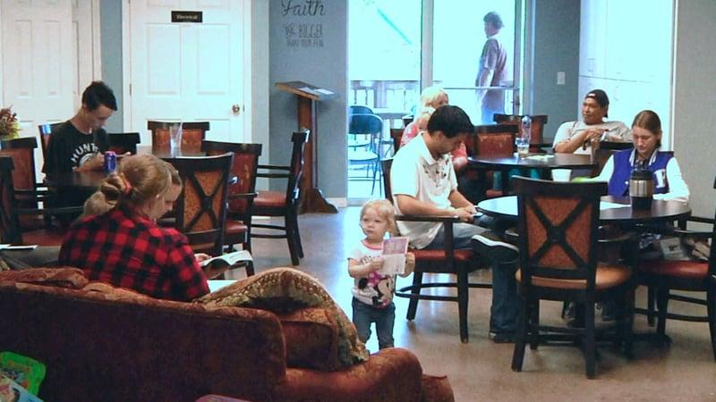 MaMa T's B&B in Ada welcomes men, women and children. (KTEN)