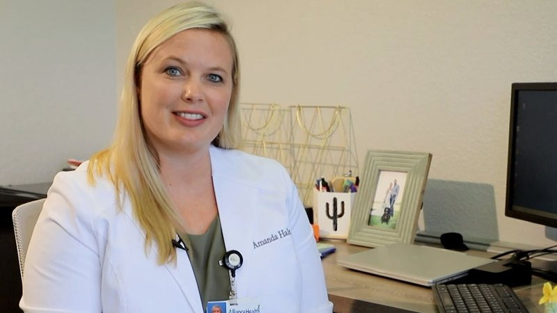 Dr. Amanda Hale is a primary care physician. (AllianceHealth Durant)