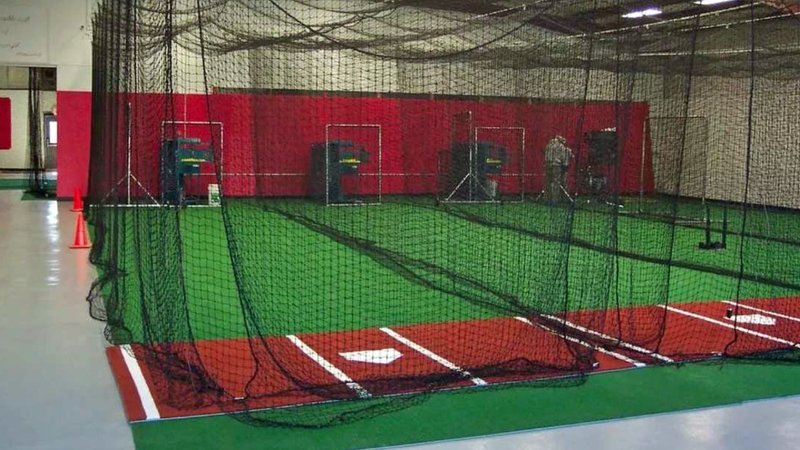 Three batting cages like this were donated to the City of Durant by Tim and Brandy Rundel. (Durant City Council)