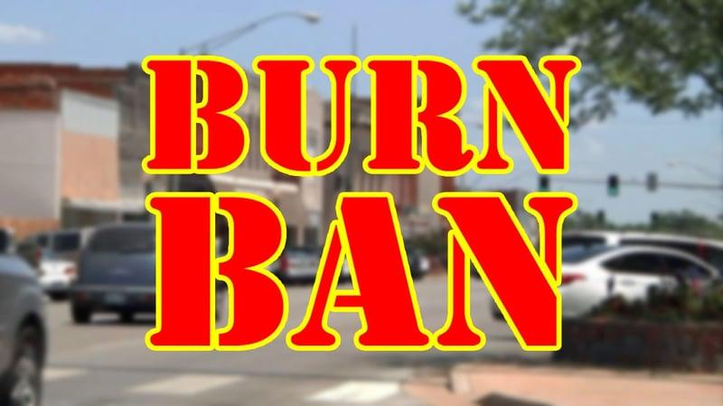Ardmore burn ban