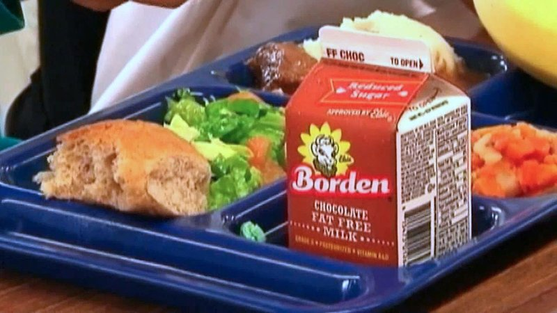 Sherman elementary students now get free breakfast and lunch, no strings attached. (KTEN)