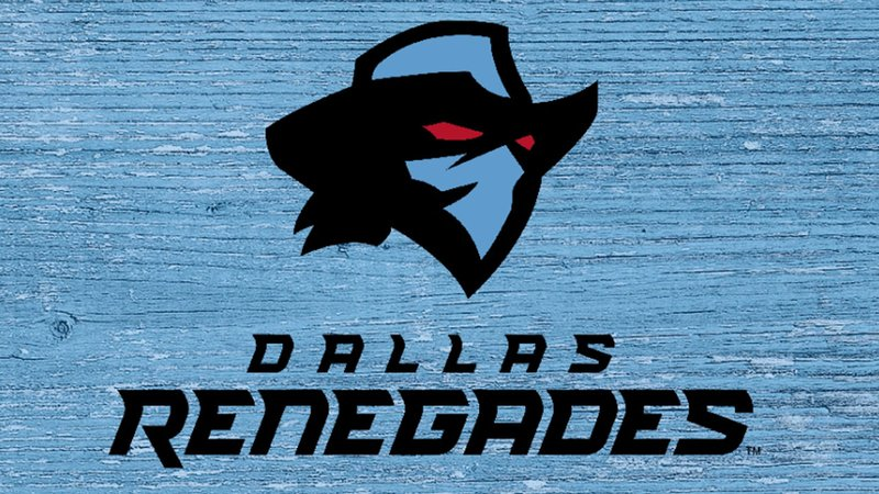 The Dallas Renegades logo. (XFL)