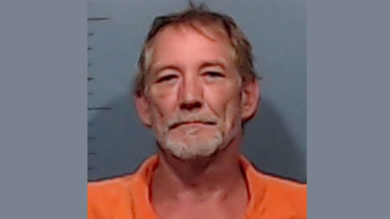 Kevin Moseley was jailed in Abilene, Texas, in connection with the deaths of three family members in Marshall County, Oklahoma. (Abilene PD)