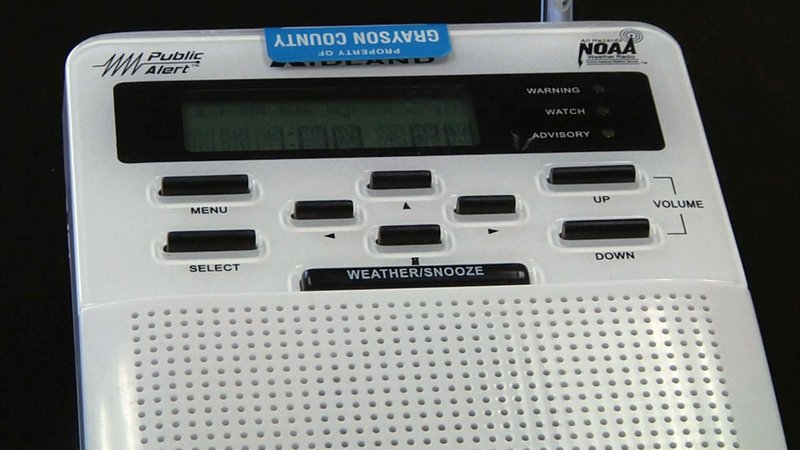 NOAA Weather Radio is off the air in Grayson County. (KTEN)
