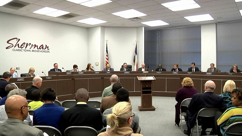 Sherman voters will decide whether City Council members can serve longer terms. (File/KTEN)