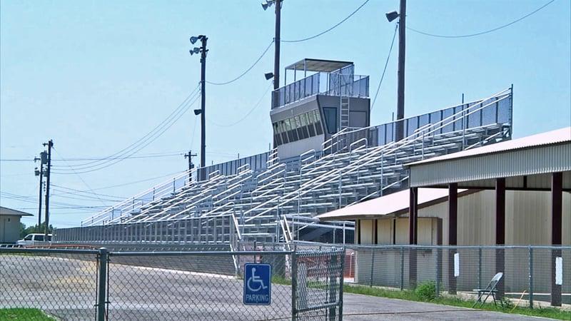 Marietta's McClain Stadium won't be ready for the Indians' 2019 home opener. (KTEN)
