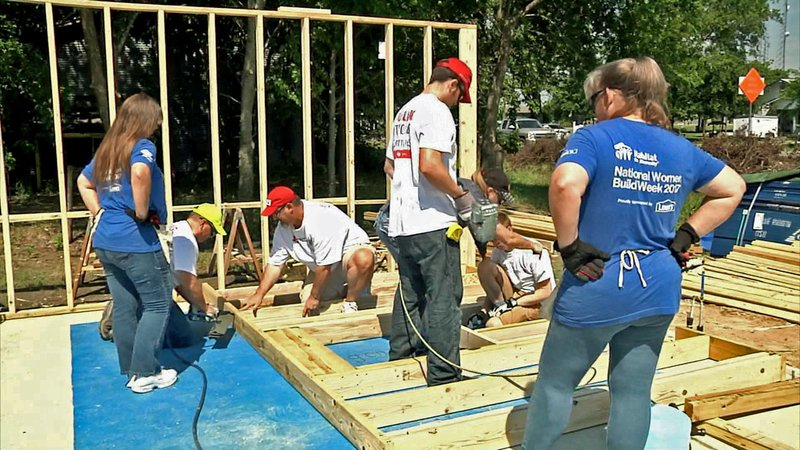 Habitat for Humanity builds homes and donates them to those in need. (KTEN)