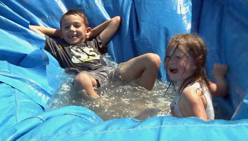 Kids have fun at the Fish Bowl fundraiser at Catfish Bay Marina. (KTEN)