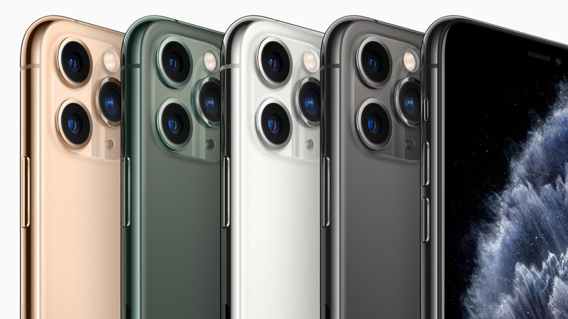 Apple's new iPhone 11 Pro models feature three rear-facing cameras. (Apple)