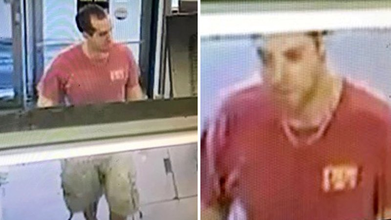 Sherman police released these surveillance images of an armed robbery suspect at the Dollar General store on North Travis Street. (Sherman PD)