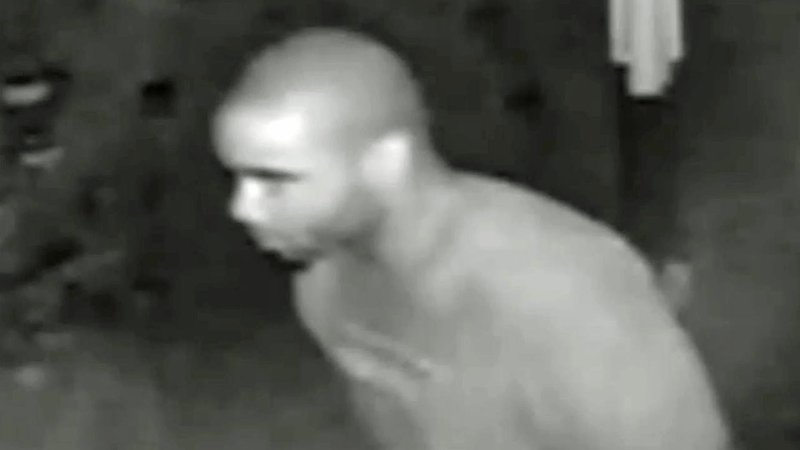 Surveillance video shows a burglary suspect at a residence on East FM 120 on September 9, 2019. (Denison PD)