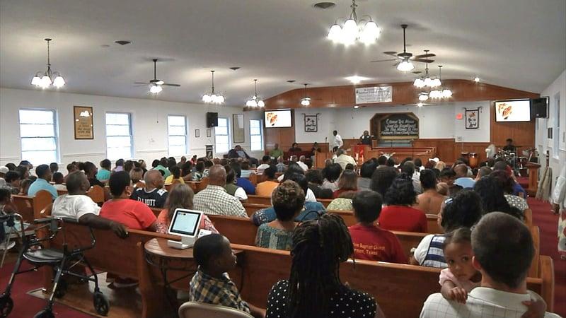 Progressive Baptist Church in Sherman is actively recruiting new members. (KTEN)