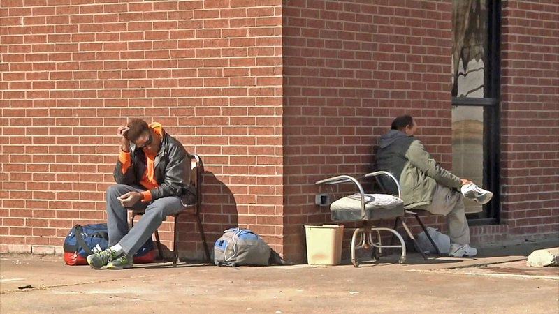 A Denison group is advocating that more resources be provided for the city's homeless population. (KTEN)