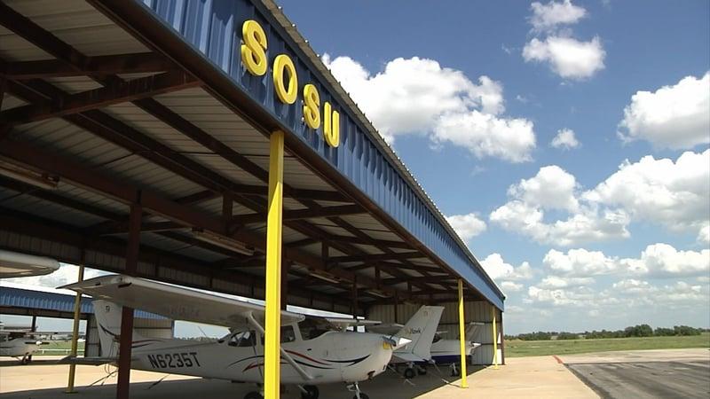 SOSU is partnering with Southwest Airlines on a pilot training program. (KTEN)