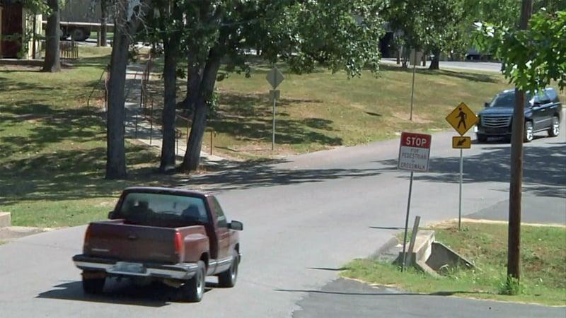 Motorists are warned about speeding in Wintersmith Park. (KTEN)
