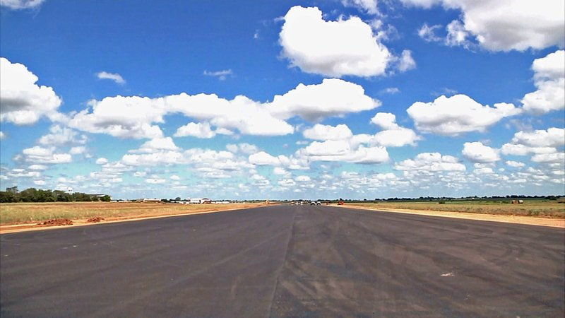 The extended runway at Durant Regional Airport is ready for larger aircraft. (File/KTEN)