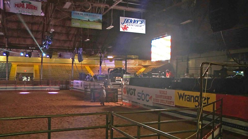 The World Championship Bullfight Finals were held at Hardy Murphy Coliseum in Ardmore. (KTEN)