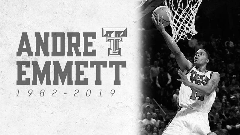 Andre Emmett was Texas Tech's all-time leading scorer. (Twitter/Texas Tech)