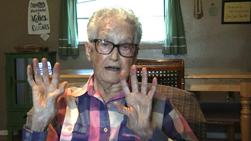 """""""The dogs pounced on me from the back,"""" Oleta Bird said. (KTEN)"""