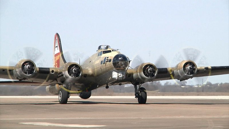 The B-17 that crashed in Connecticut on October 2, 2019 had visited North Texas Regional Airport in March. (KTEN)