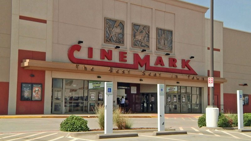 The Cinemark theater in Sherman does not permit costumed patrons. (KTEN)