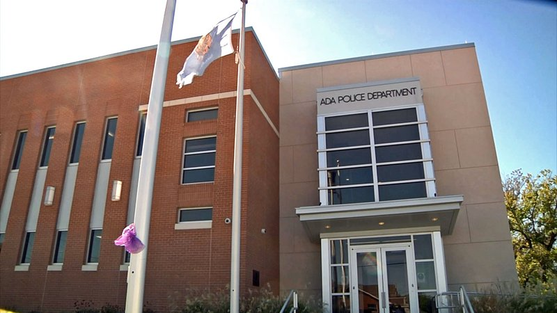 Ada police headquarters. (KTEN)