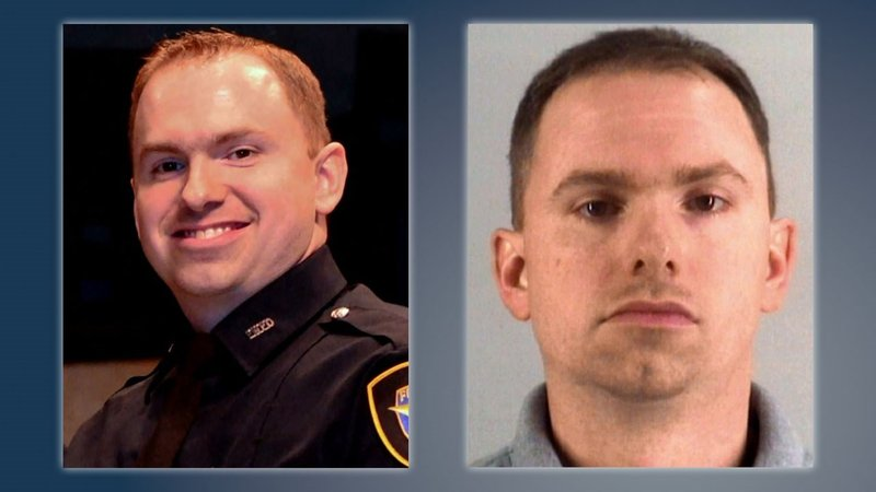 Former Fort Worth police officer Aaron Dean is charged with murder. (NBC News)