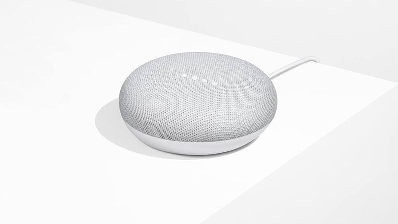 The Google Home Mini speaker. (Google)