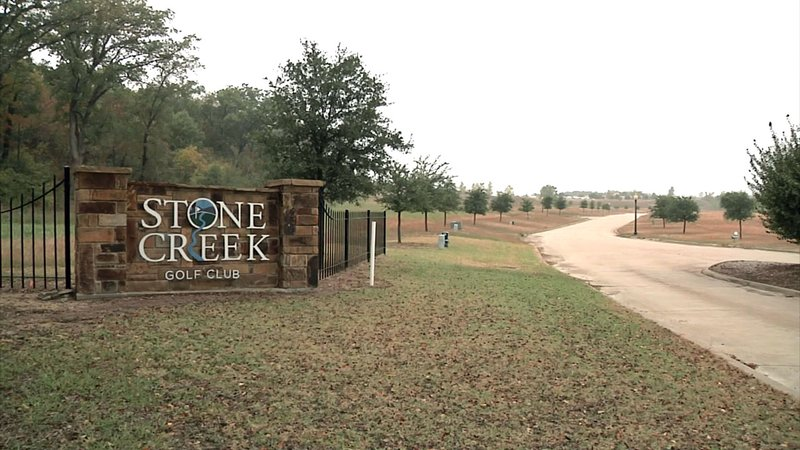 The Holley Heights Addition is adjacent to Stone Creek Golf Club in Sherman. (KTEN)