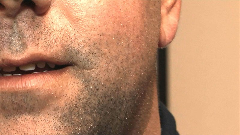 Durant police officers are ready for no-shave November. (KTEN)