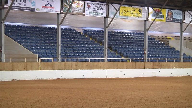 Ardmore's Hardy Murphy Coliseum opened in 1937. (KTEN)